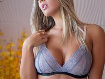Sex strip Tanline Blondie